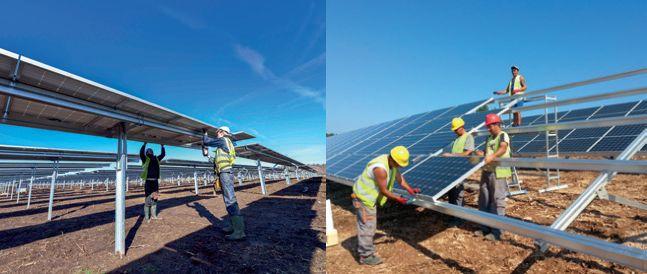 La centrale solaire de Vallon de l'Epine produira bientôt ses premiers kWh