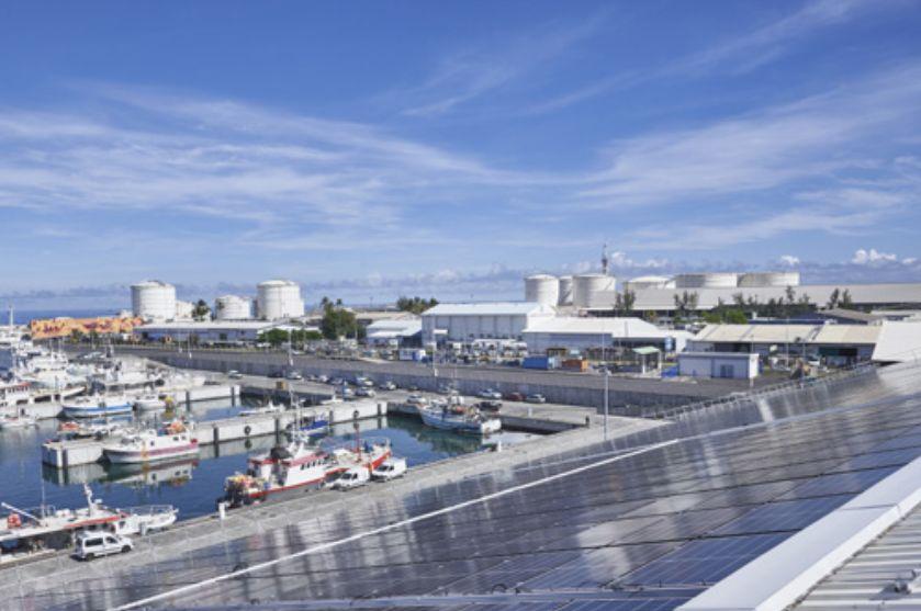 Port Ouest/Réunion : une centrale PV de 1,3 MWc avec 1,33 MWh de stockage entre en service