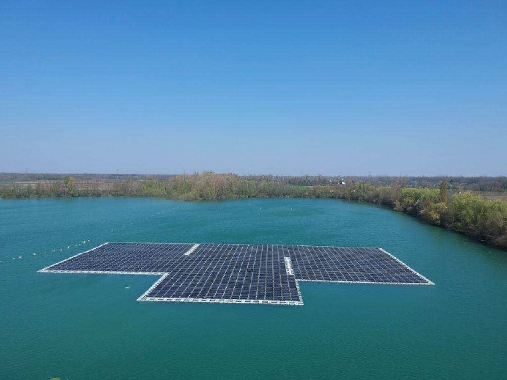 Ciel & Terre réalise la première centrale solaire flottante d'Allemagne