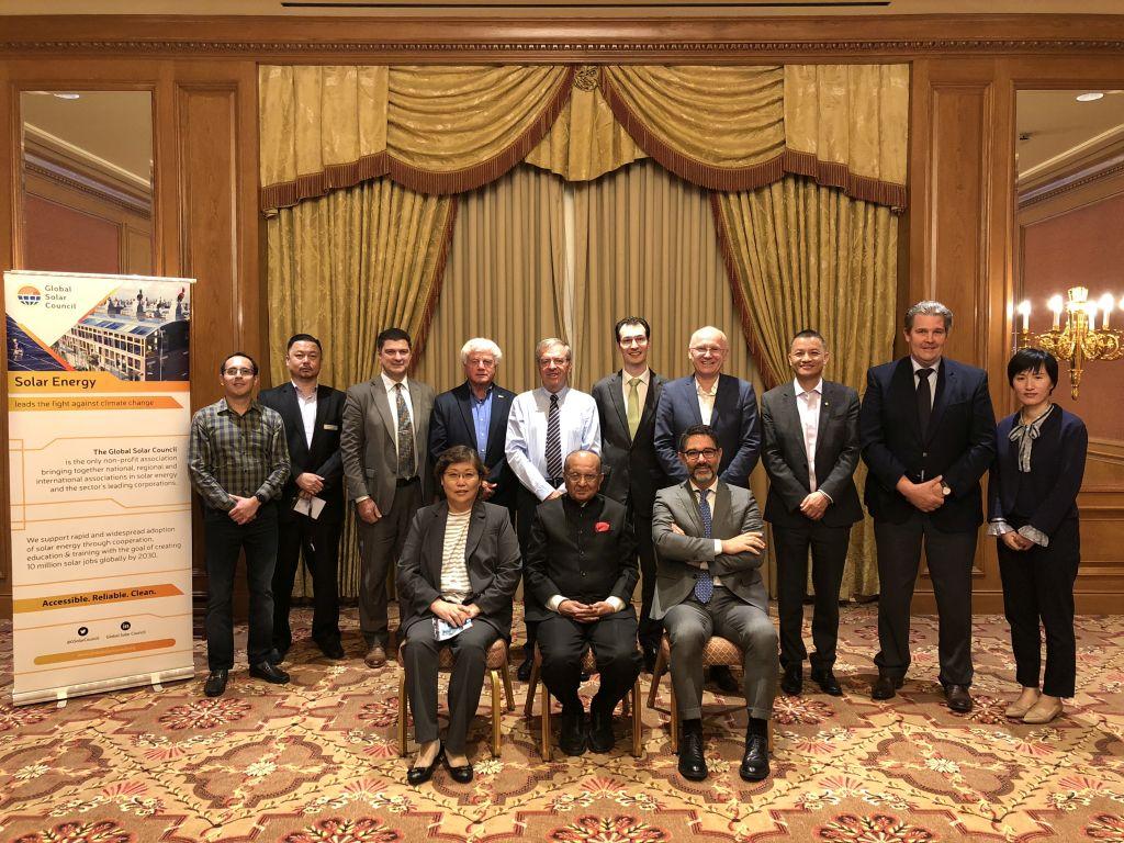 José Donoso, président de l'UNEF, prend les rênes du Global Solar Council