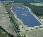 Une centrale photovoltaïque de 13,3 MWc à Montijo, au sud-est de Lisbonne (Photo : Hanwha Q Cells)