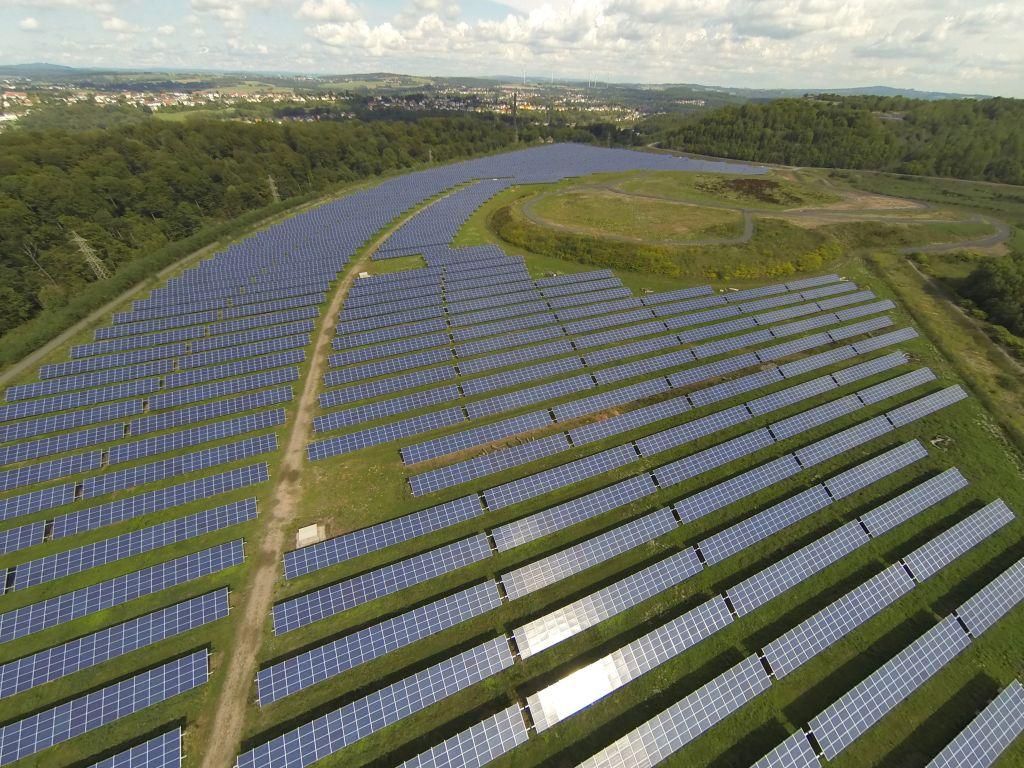 La centrale PV du Terril Wendel en Moselle s'ouvre au crowdfunding