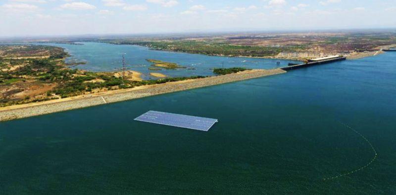 Ciel & Terre équipe un lac de barrage brésilien d'une centrale PV flottante de 1 MW