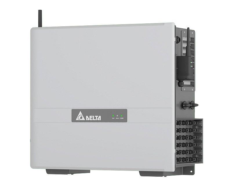 Onduleur de branche: Delta lance un modèle triphasé 77 kWA avec 6 trackers MPP