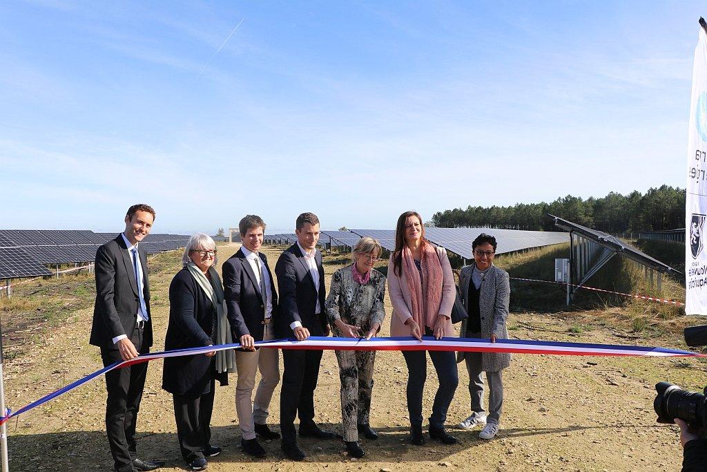 Total Quadran a inauguré 12 MW de PV à Saint-Magne en Gironde