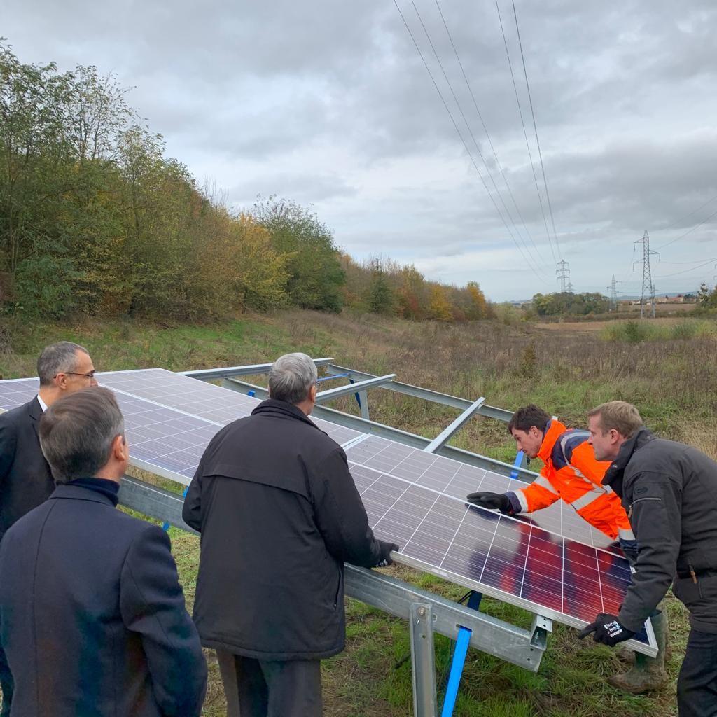 Akuo Energy lance la construction d'une centrale PV de 17 MWc en Île-de-France