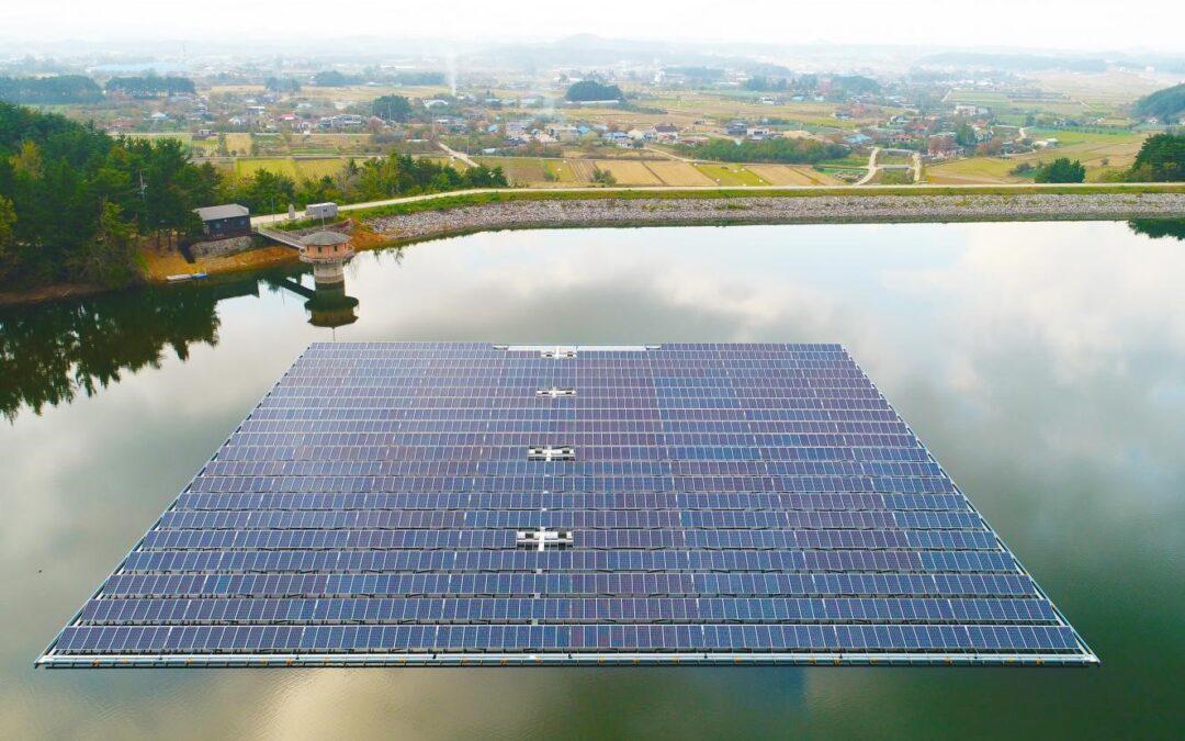 FreShER : un projet de R&D pour réduire le coût des centrales PV flottantes