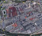 Le site de PSA Sochaux (Source : Google)