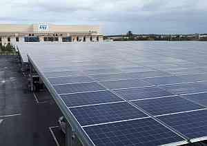 ST et GreenYellow inaugurent 4000 m2 d'ombrières photovoltaïques au Maroc