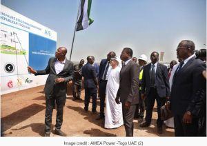 Le Togo inaugure le plus grand projet photovoltaïque d'Afrique de l'Ouest