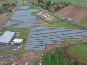 Mise en service d'un parc solaire de 4,9 MWc à Varennes-sur-Allier