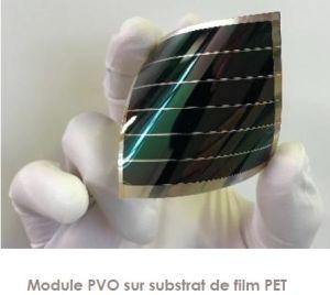 Record mondial de rendement pour de petites cellules photovoltaïques organiques