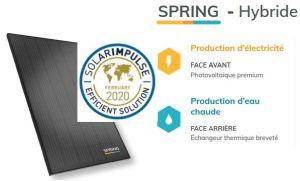 La technologie solaire hybride DualSun reconnue par la Fondation Solar Impulse