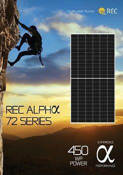 REC Group lance la production d'un module solaire à 72 cellules