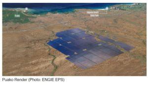 Hawaï retient Engie pour un projet de centrale PV avec stockage sur batteries