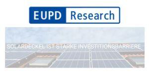 La limite des 52 GWc en Allemagne est une forte barrière à l'investissement