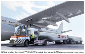 Aviation : Total et Gaussin développent le premier camion avitailleur 100% électrique