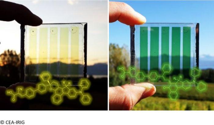 Le CEA fait un premier pas vers des vitres photovoltaïques photochromiques