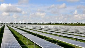 Neoen et BNRG remportent 55 MWc de projets solaires en Irlande