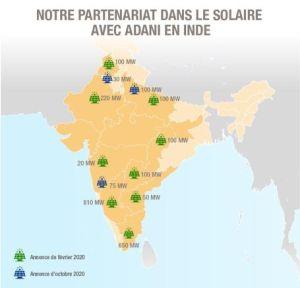Total renforce son partenariat dans le solaire avec Adani en Inde