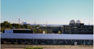 Le site de Thales Alenia Space à Toulouse produit de l'énergie verte