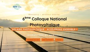 L'Agenda du Solaire : 6e Colloque national Photovoltaïque