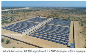 Mise en service à Madagascar des premières unités d'énergie solaire entièrement mobiles et portatives