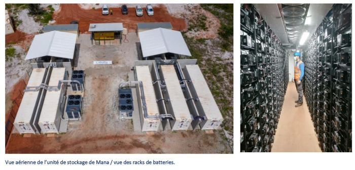 Voltalia met en service le plus grand système de stockage par batteries en France