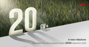 LONGi, première entreprise à livrer des modules PV générant plus de 20 GW en 2020