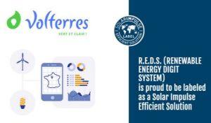 La Fondation Solar Impulse labellise la technologie R.E.D.S. développée par Volterres