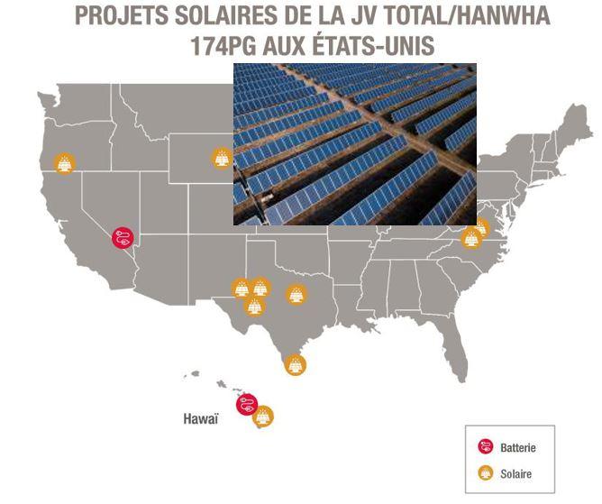 Total et 174 Power Global vont développer 1,6 GW de projets solaires et de stockage d'énergie aux États-Unis