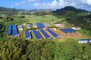 Apex Energies réalise la plus grande centrale en toiture de Martinique 1,3MWc