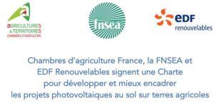 Une charte pour développer et mieux encadrer les projets photovoltaïques au sol sur terres agricoles