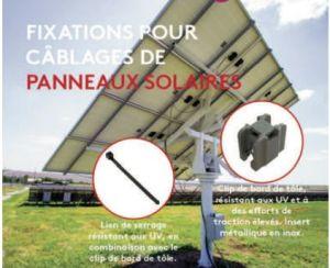 Fixation pour câblages de panneaux PV | Essentra