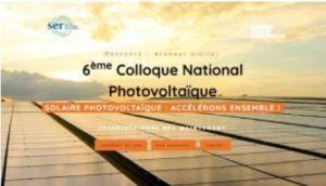 500 participants réunis pour le 6e Colloque national Photovoltaïque du SER