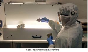 Nouvelle teinte grise pour le film OPV d'Armor solar power films