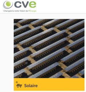 CVE obtient un financement pour 6 centrales solaires totalisant 60 MWc