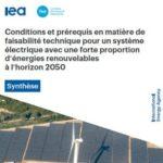 RTE et l'AIE confirment la capacité du système électrique à fonctionner sur la base d'énergies renouvelables en 2050