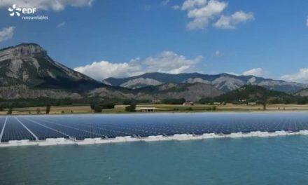 EDF Renouvelables lance la construction de sa première centrale PV flottante en France