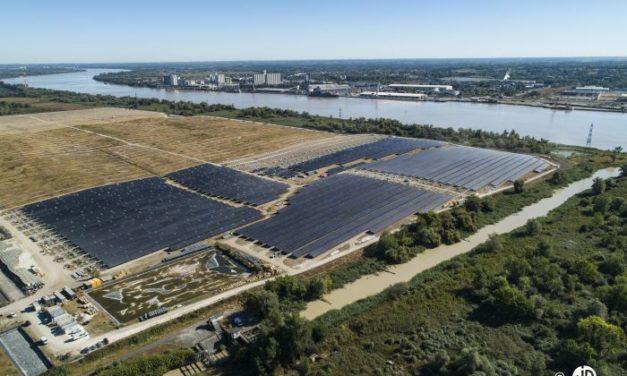 Centrale solaire de Labarde : 37 000 bordelais alimentés en électricité verte depuis le 1er mars