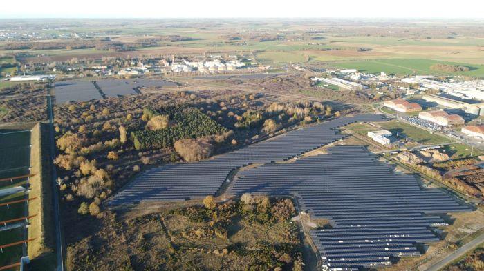 Mise en service du parc solaire Blueberry près de Châteauroux