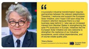 SolarPower Europe et EIT InnoEnergy lancent l'Initiative solaire européenne
