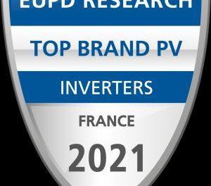 """APsystems à nouveau distingué """"Top Brand PV"""" sur le marché français des onduleurs par EUPD Research"""