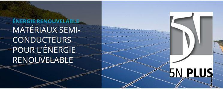 5N Plus sur le point d'acquérir l'Allemand Azur Space Solar Power