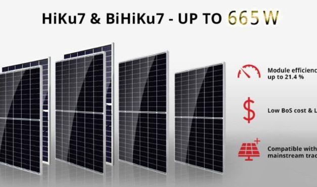 Canadian Solar lance la production de masse de modules 665 W