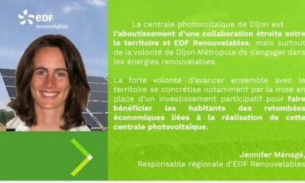 EDF Renouvelables lance une campagne de financement participatif pour la centrale PV du CET de Dijon