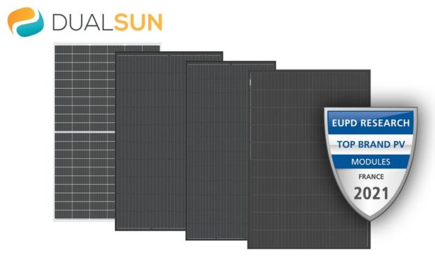 EUPD Research décerne un label «Top Brand PV 2021» à DualSun