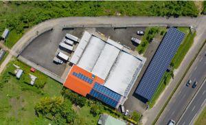 GreenYellow lance sa première ombrière solaire en Guadeloupe