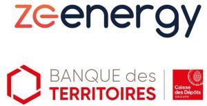 ZE Energy et la Banque des Territoires s'associent pour des centrales PV combinant PV et stockage