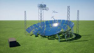Projet européen de système de tracking innovant pour centrales solaires thermodynamiques
